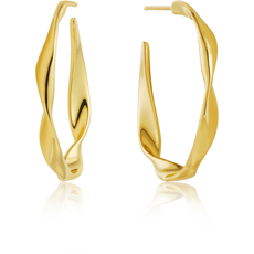 Ania Haie Twist Hoop Earrings