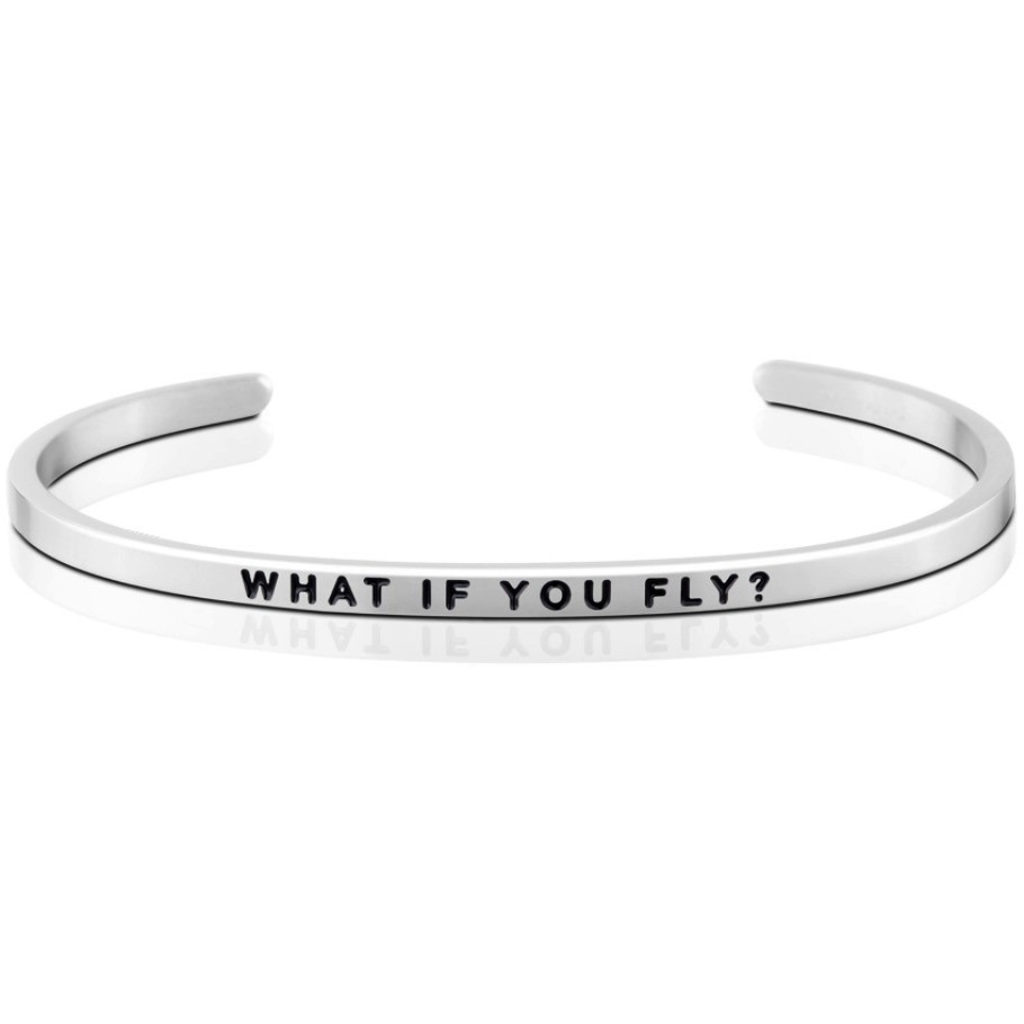 MantraBand - What If You Fly - Silver