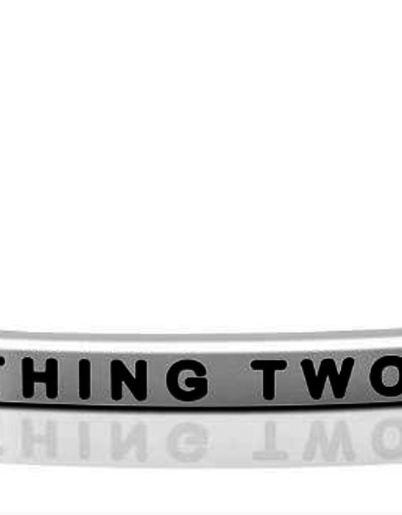 Mantraband - Thing 2 -  Silver