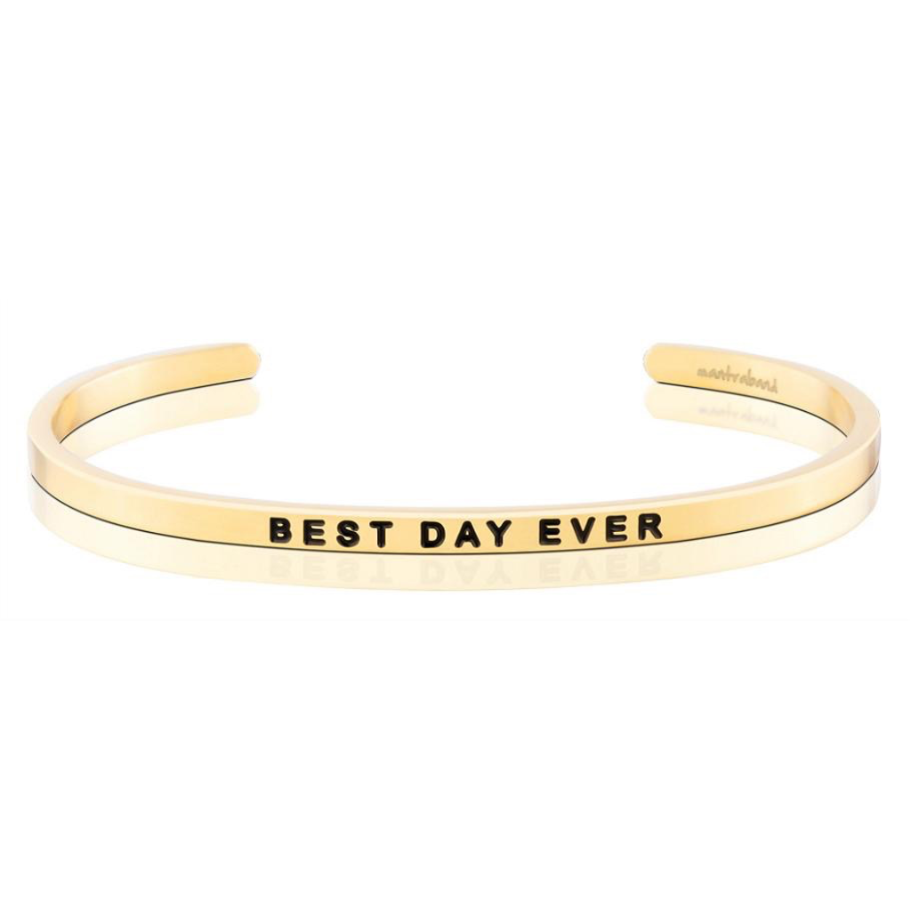 Mantraband - Best Day Ever - Gold