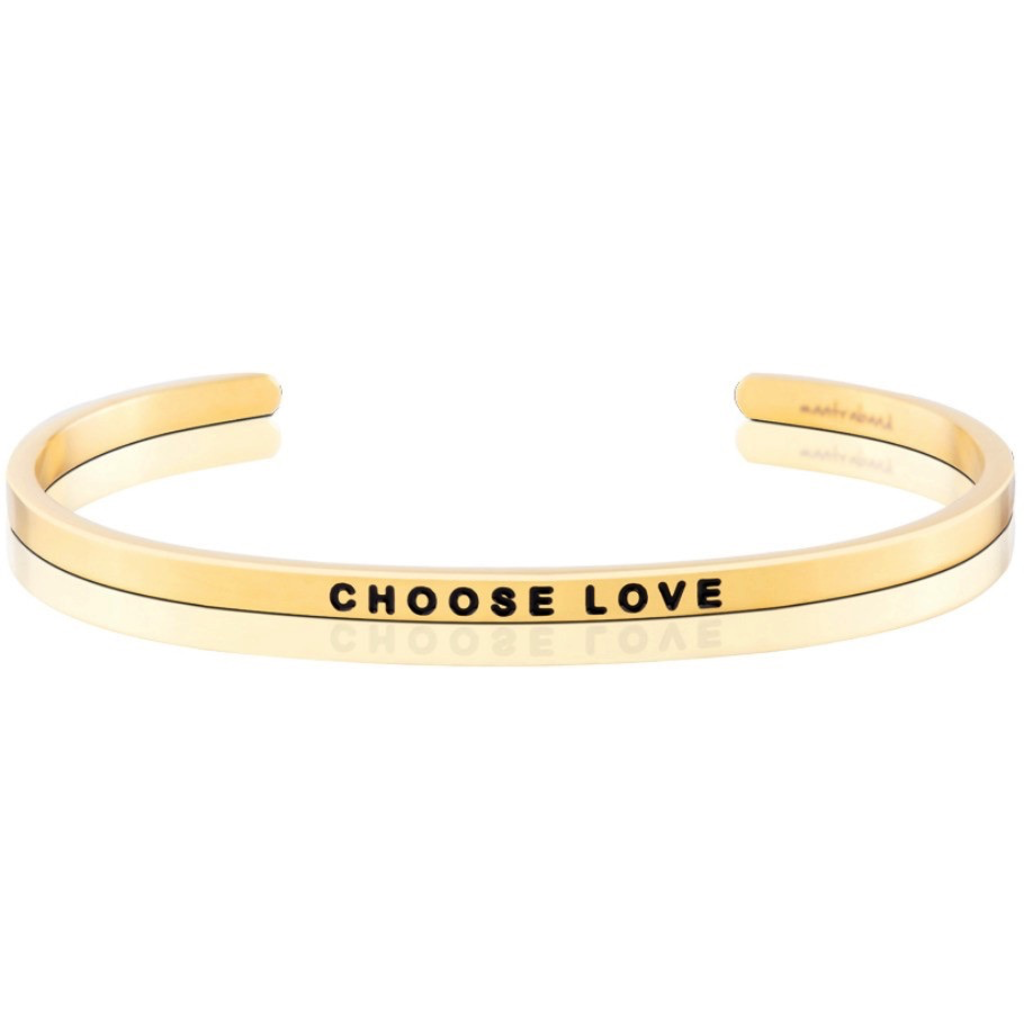 MantraBand - Choose Love - Yellow Gold