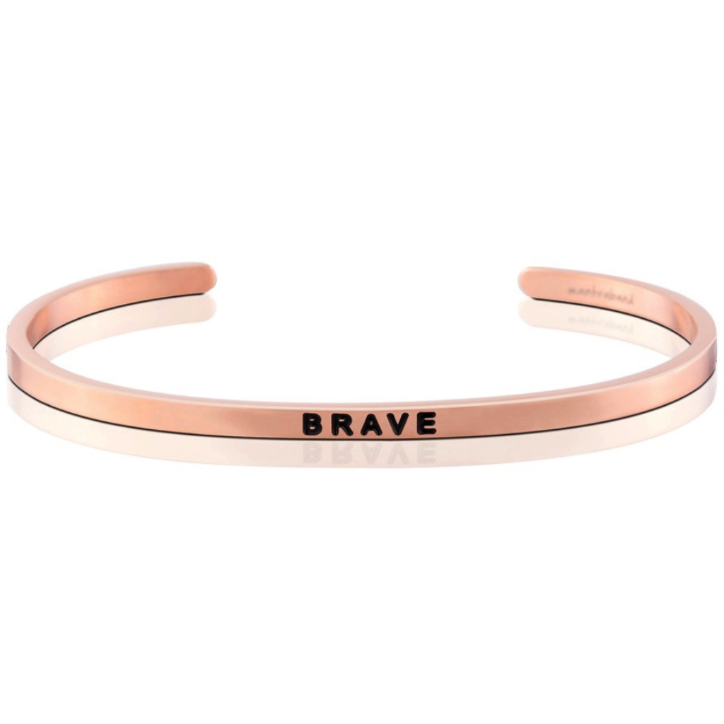 MantraBand - Brave - Rose Gold