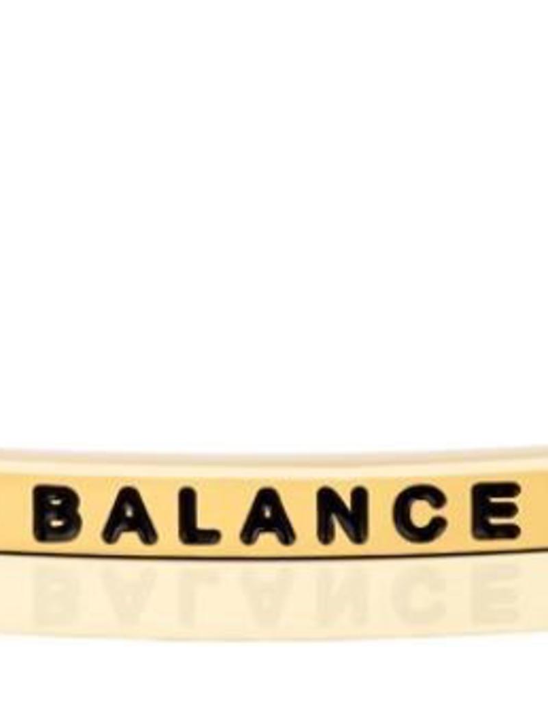 MantraBand - Balance - Yellow Gold