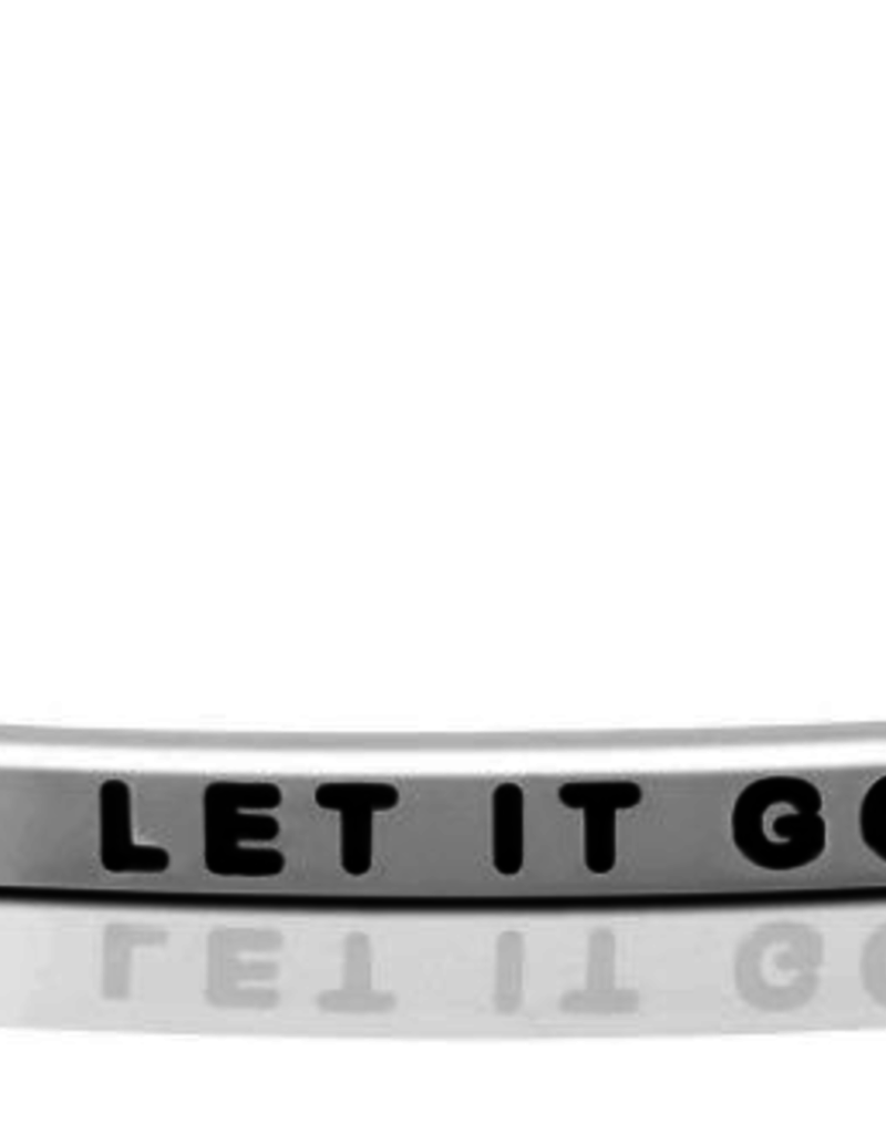 MantraBand - Let It Go - Silver