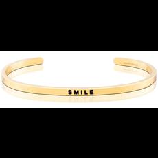 MantraBand - Smile - Yellow Gold
