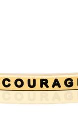 "MantraBand - ""Serenity Courage Wisdom"" Yellow Gold"