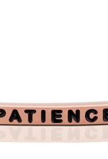 """MantraBand - """"Patience"""" Rose Gold"""
