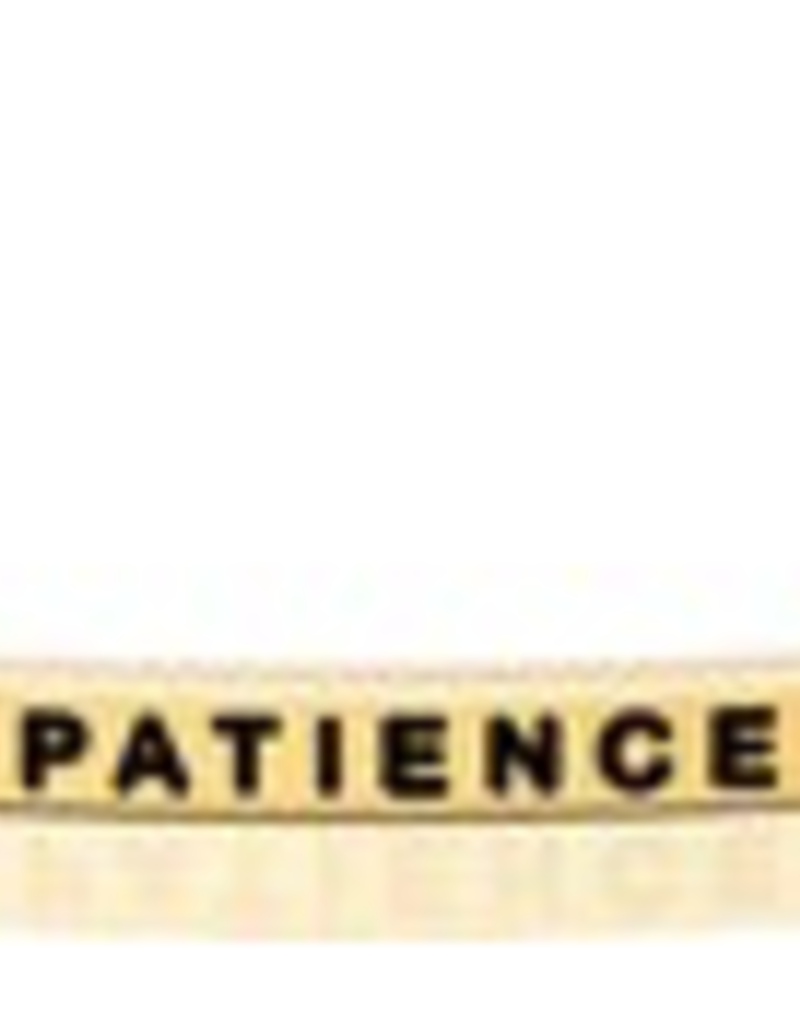 MantraBand - Patience - Gold