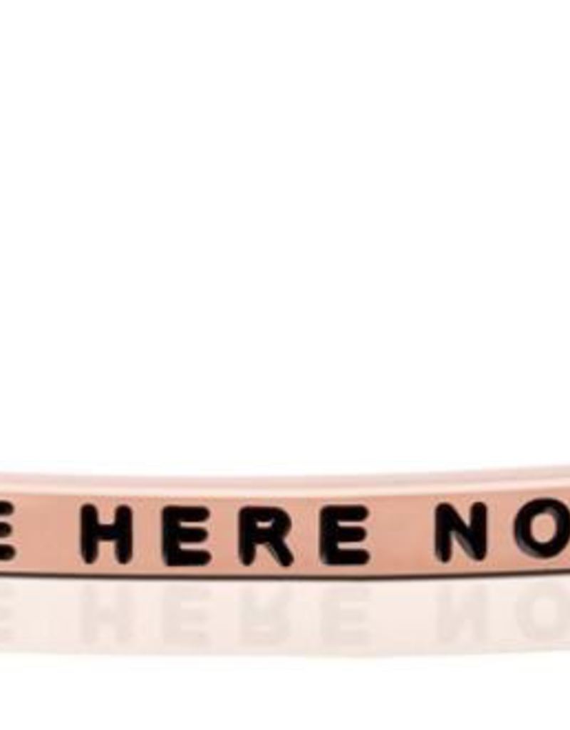 Mantraband - Be Here Now - Rose Gold