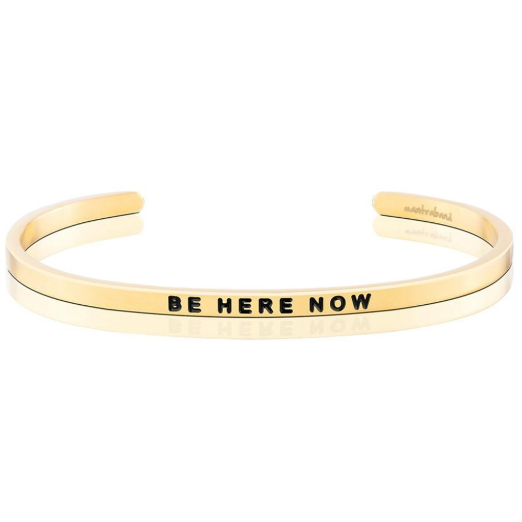 Mantraband - Be Here Now - Gold