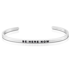 Mantraband - Be Here Now - Silver