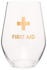 Chez Gagne First Aid Wine Glass