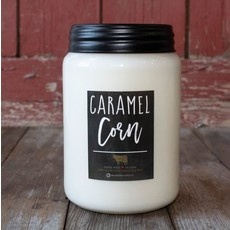 Milkhouse Candle Creamery Milkhouse Candle Creamery 26 oz Farmhouse Jar: Caramel Corn