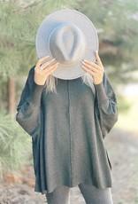 Mud Pie Leni Sweater Charcoal