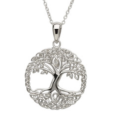 ShanOre ShanOre Tree of Life Silver Necklace