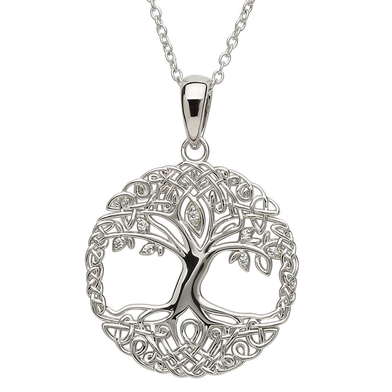 ShanOre Tree of Life Silver Necklace