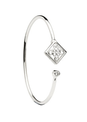 ShanOre ShanOre Sterling Silver Celtic CZ Bangle