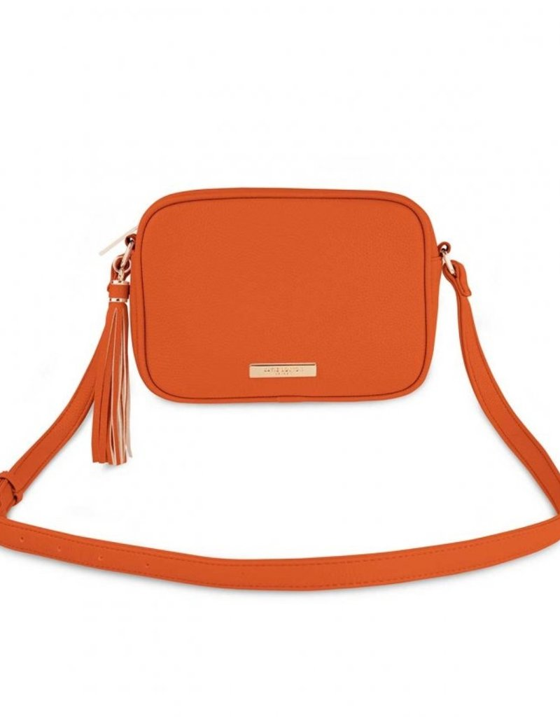 Katie Loxton Sophia Tassel Crossbody-Orange