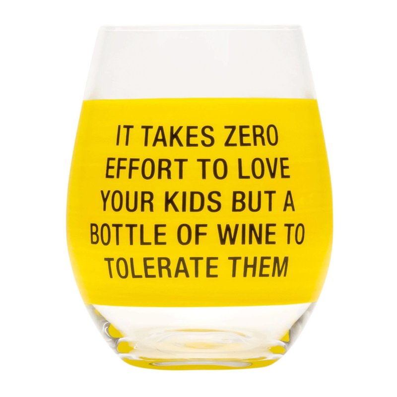 About Face Designs About Face Zero Effort Wine Glass
