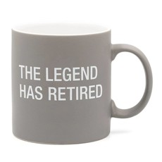 About Face Designs About Face Legend has Retired Mug
