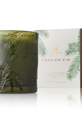 Thymes Thymes Frasier Fir Green Glass Candle