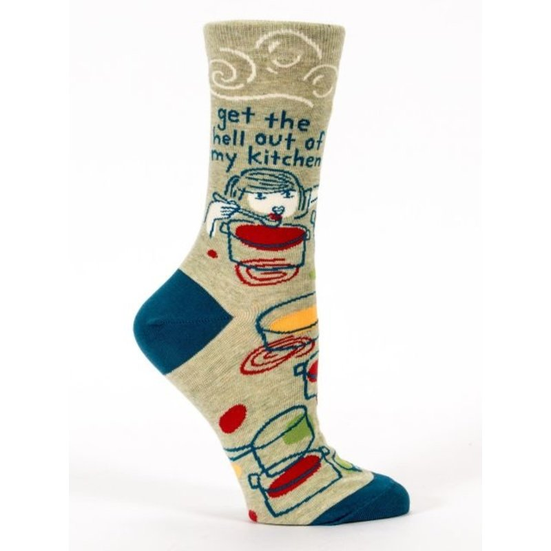 Blue Q Blue Q Get the Hell Out Women's Socks (Disc)