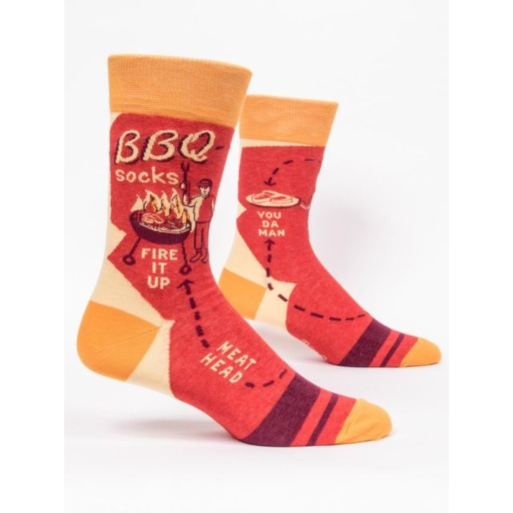 Blue Q Blue Q BBQ Men's Socks (Disc)