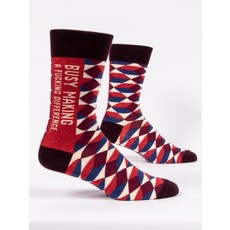 Blue Q Blue Q Making A Difference Men's Socks