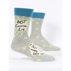 Blue Q Blue Q Not Gonna Lie Men's Socks