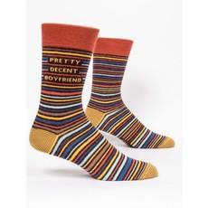 Blue Q Blue Q Pretty Decent BF Men's Socks