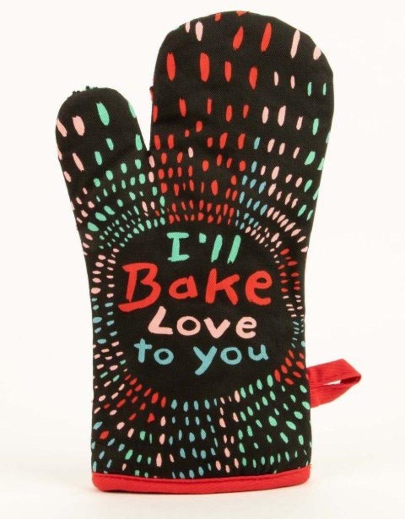 Blue Q Blue Q Bake Love To You Oven Mitt
