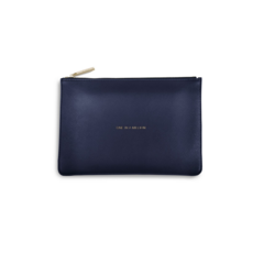 Katie Loxton  Perfect Pouch - One In a Million - Navy