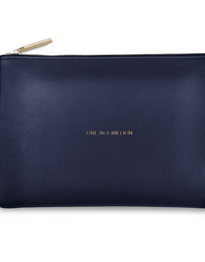 Katie Loxton The Perfect Pouch - One In a Million - Navy