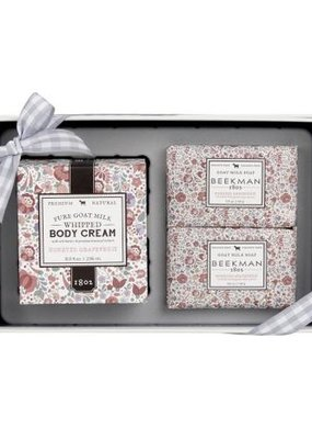Beekman Honeyed Grapefruit Soap & Whipped Body Cream Sampler
