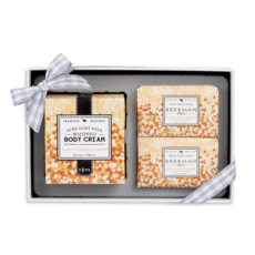 Beekman Honey & Orange Blossom Soap & Body Cream Sampler