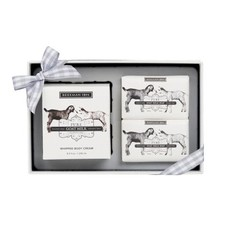 Beekman Pure Goat Milk Soap & Whipped Body Cream Sampler