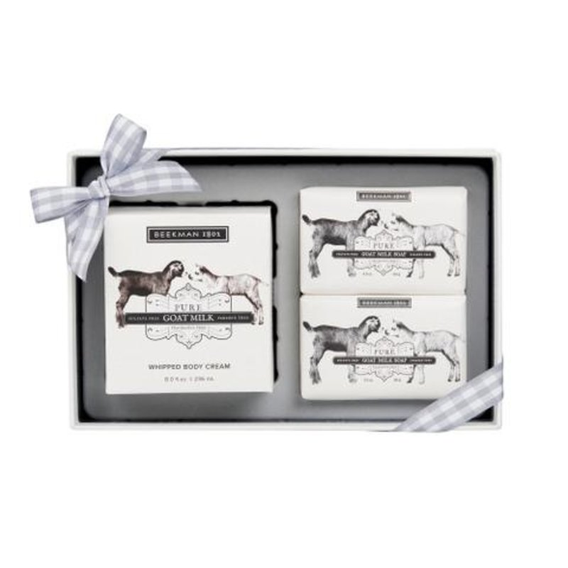 Beekman 1802 Pure Goat Milk Soap & Whipped Body Cream Sampler