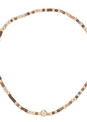 enewton Hope Unwritten Bracelet - Hot Cocoa