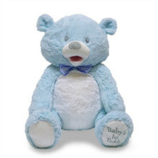 Cuddle Barn Cuddle Barn My First Singing Teddy (blue)