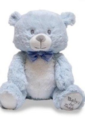 Cuddle Barn Cuddle Barn Baby's 1st Lullaby Teddie Blue