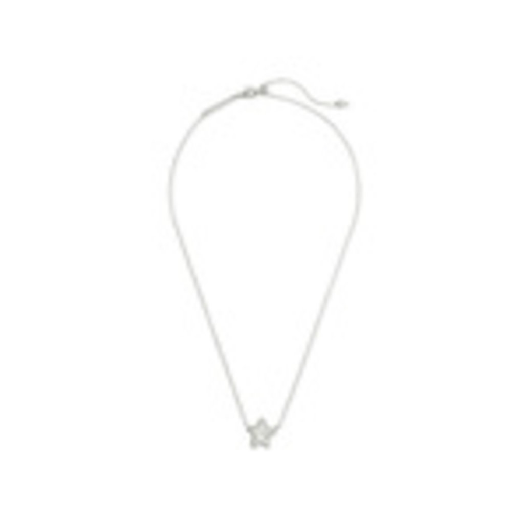 Kendra Scott Kendra Scott Jae Star Short Pendant in Silver Ivory Mother of Pearl
