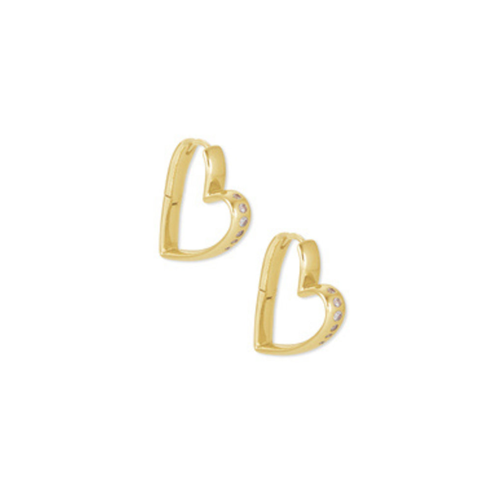 Kendra Scott Kendra Scott Ansley Small Hoop Earring in Gold