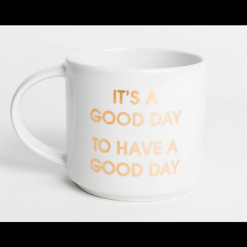 Chez Gagne Jumbo Mug - It's A Good Day