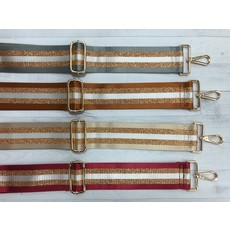 Ahdorned Ahdorned Adjustable Gold Stripe Strap