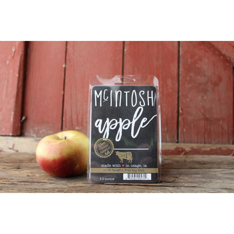 Milkhouse Candle Creamery McIntosh Apple 5.5 oz Fragrance Melts
