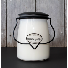 Milkhouse Candle Creamery Milkhouse Candle Creamery Butter Jar 22 oz: Banana Sunset