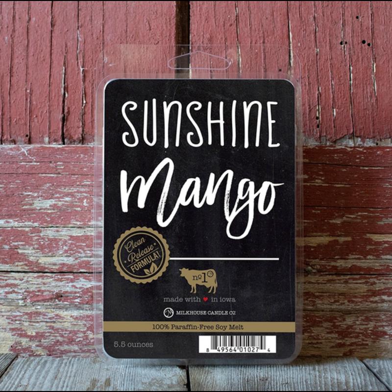Milkhouse Candle Creamery Sunshine Mango 5.5 oz Fragrance Melts