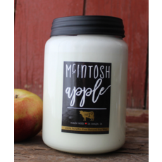 Milkhouse Candle Creamery Milkhouse Candle Creamery 26 oz Farmhouse Jar: McIntosh Apple