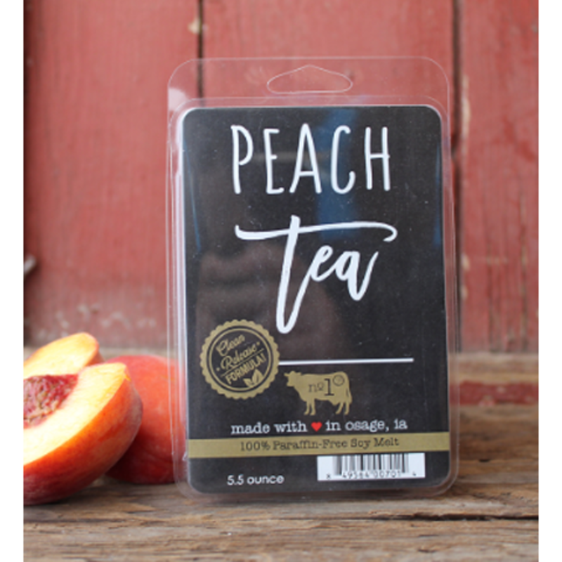 Milkhouse Candle Creamery Peach Tea 5.5 oz  Fragrance Melt
