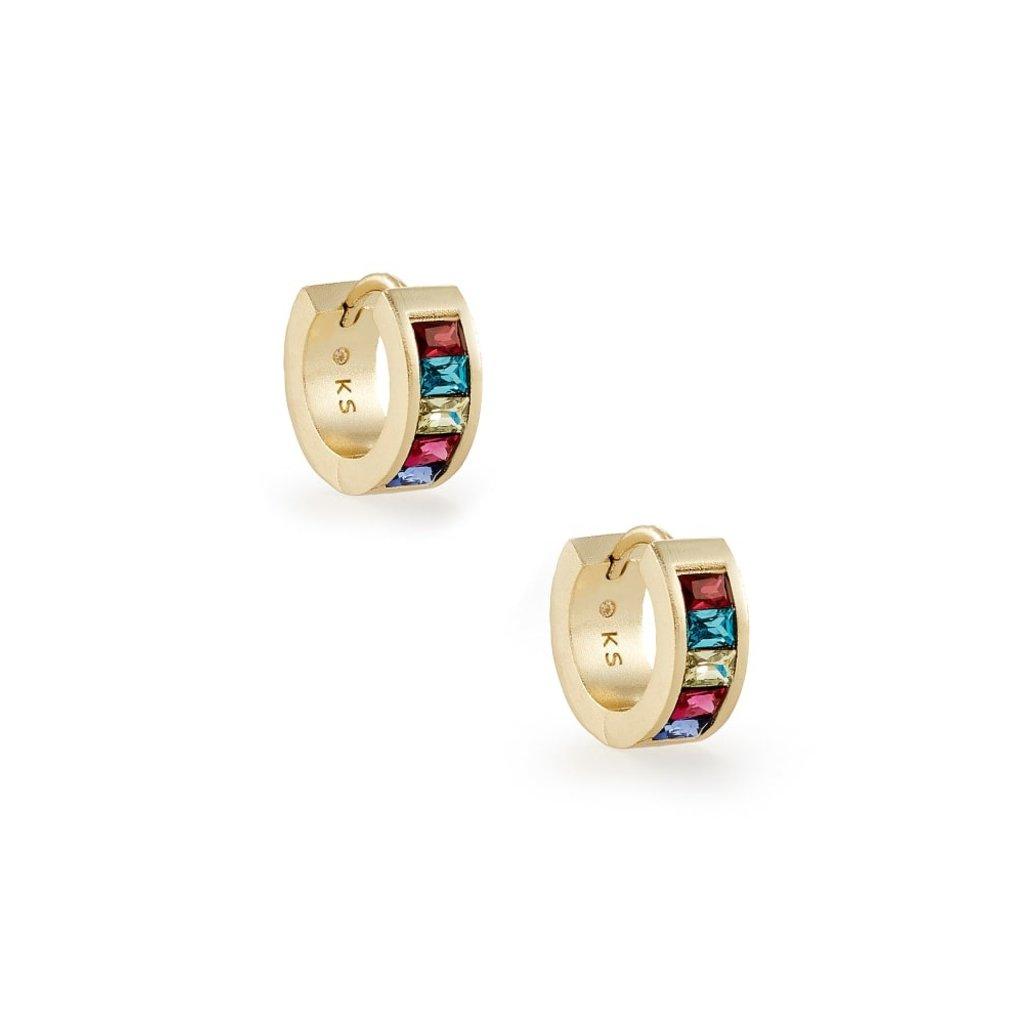 Kendra Scott Kendra Scott Jack Huggie Earring in Gold Multi